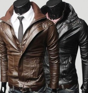 3RD STREET LEATHER JACKET
