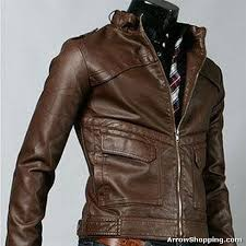 K-2 MENS LEATHER JACKET